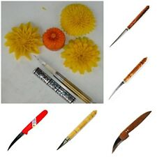 NEW STANDLESS STEEL & STEEL ALLOY KNIFE KIWI FRUIT CARVING ART CRAFT CARVING