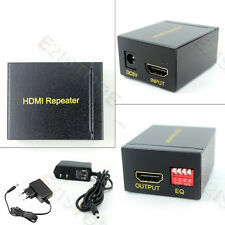Full HD 1080P 3D HDMI Repeater Box 30M Extender Joiner Amplifier Booster + Power