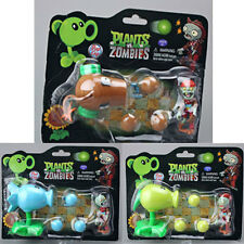 1 Pc Hot Plants vs. Zombies 2 Figure Snow Pea Coconut Cannon Peashooter Figures