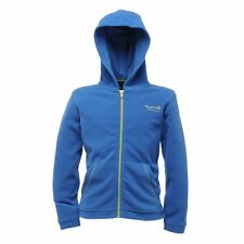 Regatta Chad Boys / Girls Full Zip Hooded Fleece / Hoody (RK056) RRP £15.00