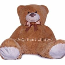 EXTRA LARGE GIANT 80CM HUGE SOFT JUMBO STUFFED ENORMOUS BROWN BIG TEDDY BEAR