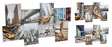 8 Iconic Images of New York Canvas Wall Art Canvas Collage 3 Designs