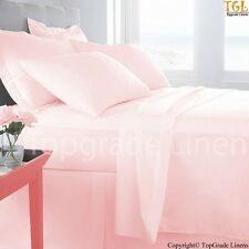 """KING SIZE"" PINK ALL BEDDING ITEMS 500TC 100% EGYPTIAN COTTON"