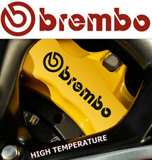 8 X Brembo Decals Stickers Graphics Vinyl Emblem Logo Tatoo Car S
