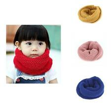 Winter Good quality Baby Kids Warm Hat Scarf Knitted Wool Cap Neck Warmer For