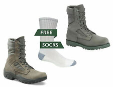 Corcoran Men's Hot Weather Boots, Sage Green W/ Free White Socks