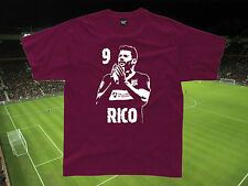 Football Legend Hero Star Baby/Childrens Fan T-shirt ANY PLAYER Top Personalised