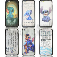 Lilo and Stitch Ohana Durable Case for Apple iPhone 6plus 02141