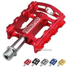 Cycling MTB BMX Road Bike Bicycle Fixie Sealed Bearing Silver Pedals Platform