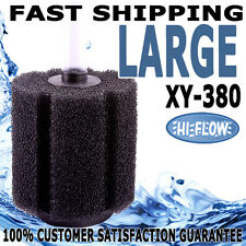 XY-380 Aquarium Fish Tank Pond Biological Aqua Sponge Water Bio Filter HI-FLOW