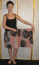 Woman's Skirt Cover Up Wrap Cruise Wear Vintage Japanese Kimono Choose Pattern