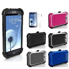 Ballistic Maxx Series Hard Rugged Case Cover For Samsung Galaxy S3 S III I9300