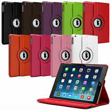 SMART LEATHER CASE COVER WITH 360° ROTATING STAND FOR !NEW APPLE IPAD AIR 2