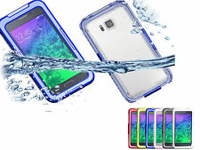 Shockproof Dirt Waterproof Silicone Fitted Case for Samsung Galaxy Alpha SM-G85
