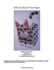 Kitty Cat Tissue Topper-Plastic Canvas Pattern or Kit