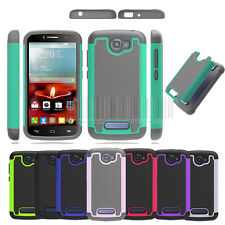 Rugged Hybrid Hard Case Shockproof Cover For Alcatel One Touch Fierce 2 7040T