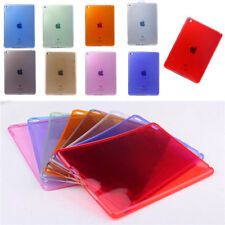 New Ultra Clear Transparent Soft TPU Back Case Cover For Apple iPad Air 2 iPad 6