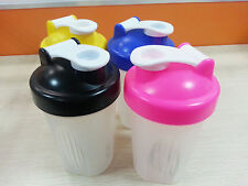 KEUK Smart Gym Protein Shaker Mixer Cup Blender Bottle Wit Stainless Whisk Ball