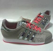 Adidas Originals Samoa W Womens Shoes Sneakers Aluminum/Bahia Pink C75992 NEW!