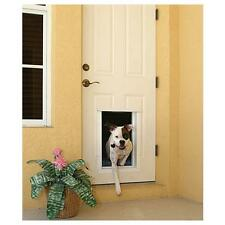 Plexidor PDE Electronic DOOR Mount Pet Door with One Touch Programming