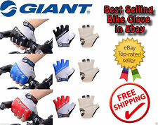 GIANT Cycling Bicycle Bike Half Finger Antiskid Silicone Gel Gloves