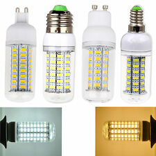 3W 7W 9W 12W 15W E27 E12 G9 E14 GU10 SMD 5730 LED Corn Light Bulb Cover 110 220V