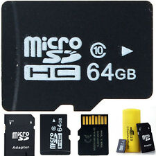 2GB 4GB 8GB 32GB 64GB Micro SD MicroSDHC Class4-10 TF Flash Memory Cards