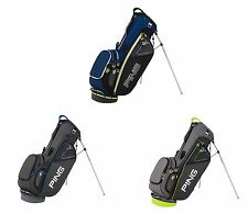PING HOOFER II STAND GOLF BAG - NEW 2015 - 5 WAY TOP W/ 8 POCKETS