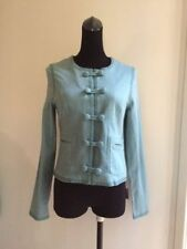 Stylish Temt Women Ladies Cotton Jacket Top Blouse Size 10