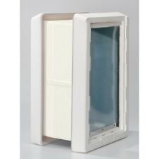 "Ideal ""RUFF WEATHER"" Insulated Pet Dog Door 2 Flaps +  WALL KIT-------*ALL SIZES"