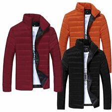 Style New Men's Winter Warm Wear Stand Collar Down Slim Parka Jacket Coats