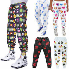 Men/Women 3D 100 Pattern Emoji Print Funny Autumn Winter Jogger Pants Sweatpants