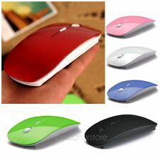 Wireless 2.4GHz Cordless Mouse Mice USB Optical For Apple Laptop Receiver PC ERF