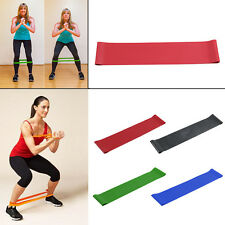Crossfit Resistance Loop Latex Band Body Gym Training Powerlifting Pull UpA