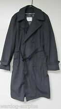 RAINCOAT MENS DRESS ALL WEATHER LINER US ARMY ISSUE TRENCH BLUE BLACK s m l xl