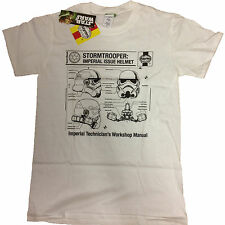 Star Wars Haynes Stormtrooper Imperial Issue Licensed T-Shirt Mens - to XXL