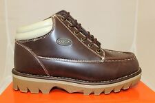 Mens Lugz Triumph Boots Oxblood/Cream/Gum Brand New In Box Stylish