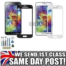 GENUINE FRONT GLASS REPLACEMENT SCREEN FOR SAMSUNG GALAXY S5 MINI S4 S3 NOTE 1 2