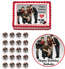 Big Time Rush Edible Birthday Cake Cupcake Toppers Party Decorations