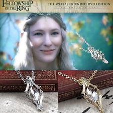 Popular The Hobbit Phial Of Galadriel Lord of The Ring Pendant Inspired Necklace