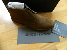 SALE!  Johnston & Murphy Runnel Suede Chukka NEW!   10.5 11 11.5
