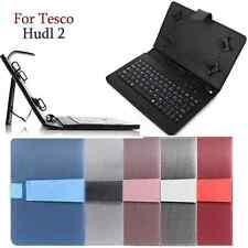 PU LEATHER KEYBOARD COVER CASE STAND FOR TESCO HUDL 2 8.3 INCH TABLET