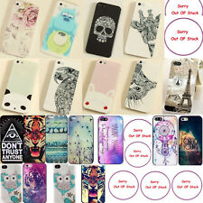 Fancy Cute Various Pattern Hard Back Skin Case Cover For Apple Iphone 5S 5 4S 4