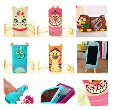 Cute Lovely Cartoon Soft Case Rubber Cover For Samsung Galaxy S3 S4 Mini S5 S6