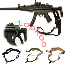 New Single Point Bungee Sling AR 15 & M 4 Rifle Shotgun Tactical 223 5.56 7.62