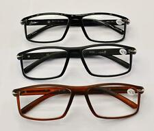 MT36 High Quality Retro Acyclic Reading Glasses with Metal Strip  In 3 Colours