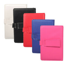 """Universal Wireless Bluetooth Keyboard PU Leather Case Cover For 7"""" Tablet PC EL1"""