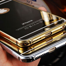 New Ultra-thin Luxury Aluminum Metal Mirror Case Cover for iPhone 6 Plus Salable