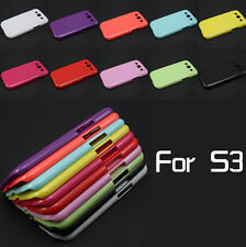 New Hot DIY Deco Candy Color Hard Plastic Case Cover For Samsung Galaxy S3 i9300