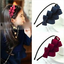 beauty cute kids bowkont hairband hairpin Accessories gifts for girls 5 colors